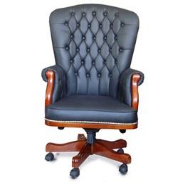 Кресло руководителя Честерфилд (кожа)