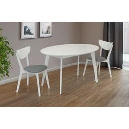 Стол обеденный Космо белый
