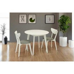 Стол обеденный Модерн D белый