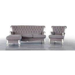 Комплект мягкой мебели Ричмонд 3+1+Пуф