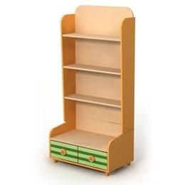 Детский книжный шкаф Bs 04-3