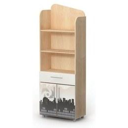 Детский книжный шкаф M 04-1