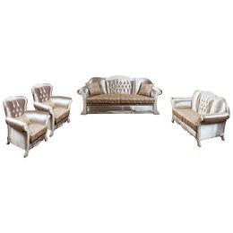 Комплект мягкой мебели Аспендос белое дерево