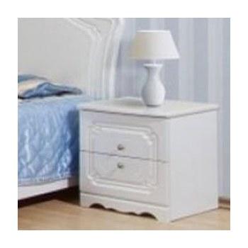 Приліжкова тумбочка Світ меблів Луіза (два висувних ящика)