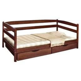 Дитяче ліжко Марія Єва бук з ящиками 0,8