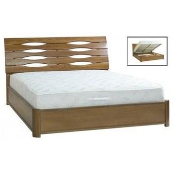 Ліжко Марія 1,8 бук з підйомним механізмом