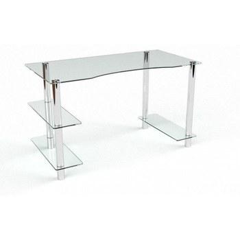 Письмовий стіл Камілла Комп'ютерний, Скляний