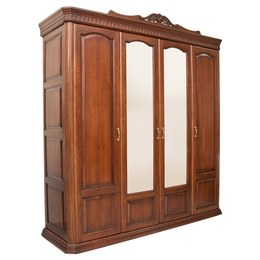 Шкаф 4-х дверный Венеция Дубовый