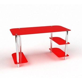 Письмовий стіл Альтаїр Комп'ютерний, Скляний