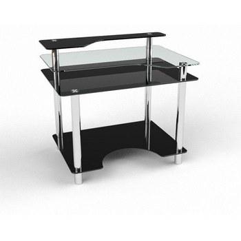 Письмовий стіл Денвер Комп'ютерний, Скляний