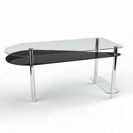 Письмовий стіл Рамундо Комп'ютерний, Скляний