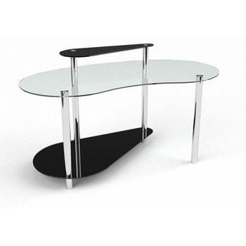 Стол письменный Дисней Компьютерный, Стеклянный+