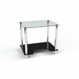 Письмовий стіл Клото Комп'ютерний, Скляний