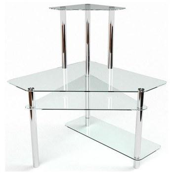 Письмовий стіл Феміда Комп'ютерний, Скляний