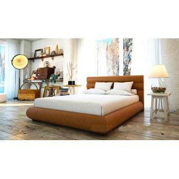 Кровать Алексис мягкое изголовье