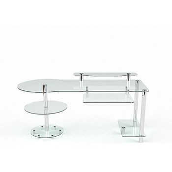 Письмовий стіл Маріон Комп'ютерний, Скляний