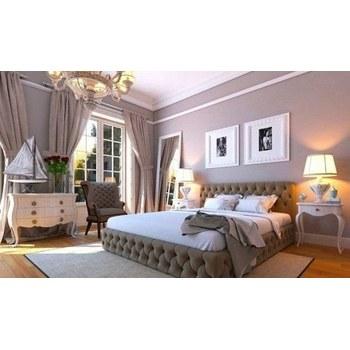Кровать Бакарди с матрасом 1,6