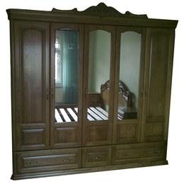 Шкаф 6-ти дверный Венеция Дубовый