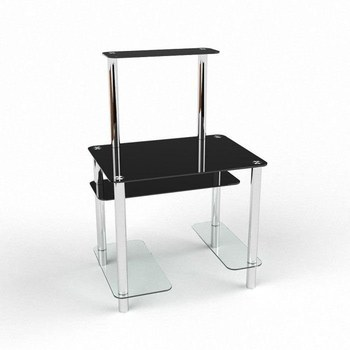 Письмовий стіл Дельта Комп'ютерний, Скляний