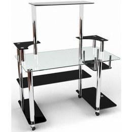 Письмовий стіл Фокус Комп'ютерний, Скляний
