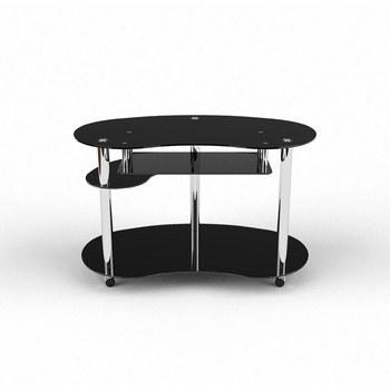 Письмовий стіл Рассел Комп'ютерний, Скляний