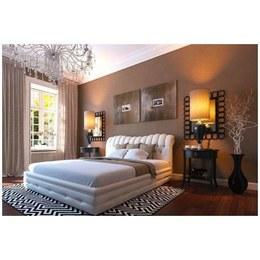 Кровать Империя ламели (металлический каркас без матраса)