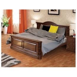 Кровать Валенсия темный орех*