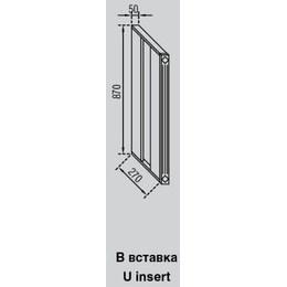 Кухонный модуль Валенсия В вставка (50х270х870)