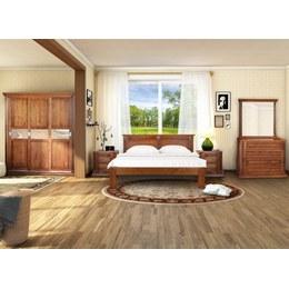 Спальня Квадро ЛТК массив дуба