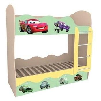 Кровать детская Волна Тачки