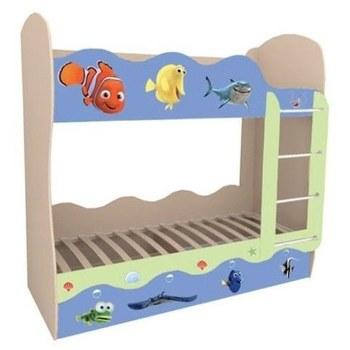 Кровать детская Волна Немо