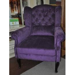 Кресло Барокко деревянные ножки