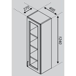 Кухонный модуль Импульс/Лира В 40ПСк (400х270х1240)