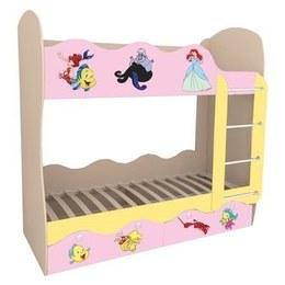 Кровать детская Волна Русалочка