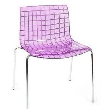 Стул Mint Transparent purple