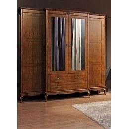 Шкаф 4-х дверный Палермо 4Д/2Ш