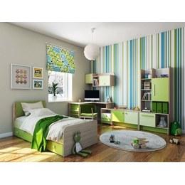 Детская комната КВ зеленая