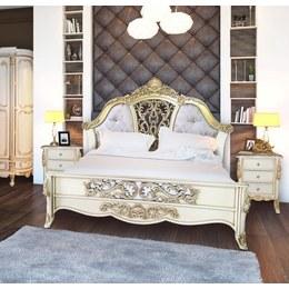 Кровать Император дубовая