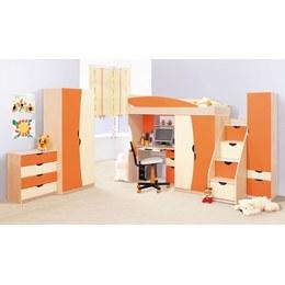 Дитяча кімната Світ меблів Савана оранж