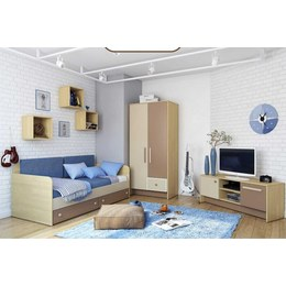 Детская комната КВ коричневая