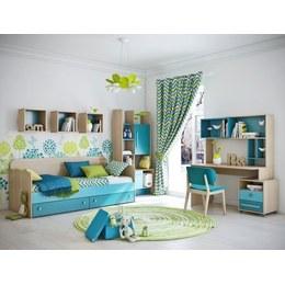 Детская комната КВ бирюзовая