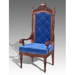 Кресло Трон №1 ткань