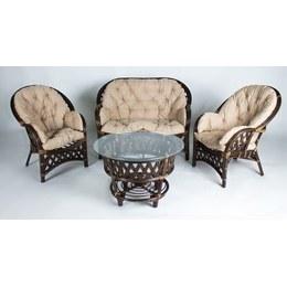 Комплект кофейный Копакабана (софа, 2 кресла и стол)