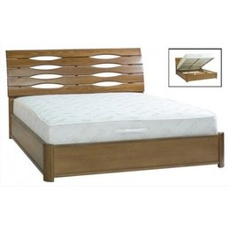 Ліжко Марія 1,4 бук з підйомним механізмом