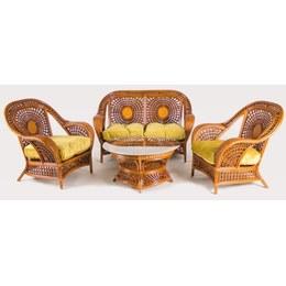 Комплект мягкой мебели Ацтека ротанг