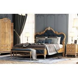 Кровать Империя 1,6 дуб