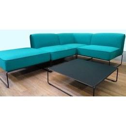 Комплект м'яких меблів Діас зелений