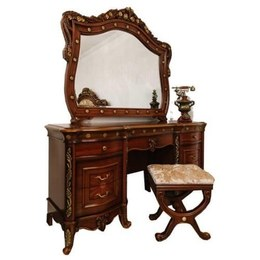 Стол туалетный Париж МДФ с зеркалом