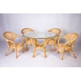 Обідній комплект Гурзуф (стіл +5 крісел)