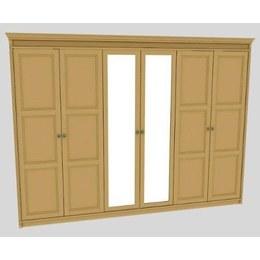 Шкаф 6-ти дверный Марсель 6Д